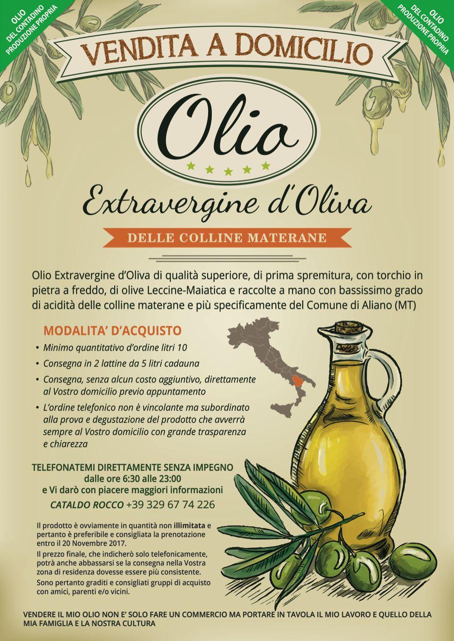 Olio extra vergine d'oliva delle colline lucane